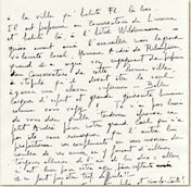 lettres de Dominique Blot à Jean Laurent