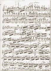 Print of the Vioolconcert No. 3, solo part (publisher: Donemus Amsterdam)